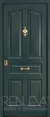 Puertas de exterior metalicas rusticas puertas de entrada - Puertas de entrada metalicas ...