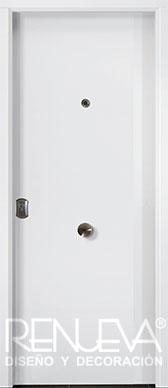 Puertas de entrada metalicas modernas puertas de exterior for Precios de puertas acorazadas