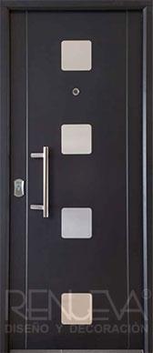 Puertas de exterior metalicas de dise o puertas de - Puertas de entrada metalicas precios ...