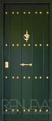 Puertas de exterior metalicas rusticas puertas de entrada - Puertas de entrada metalicas precios ...