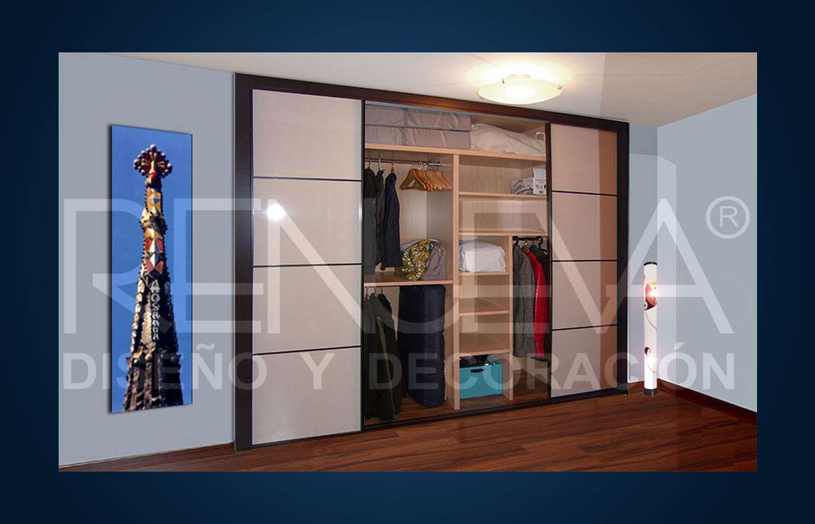 Modulos interior armario dise os arquitect nicos - Modulos armarios empotrados ...