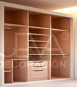 Casas cocinas mueble interiores de armarios empotrados for Distribucion de armarios empotrados por dentro