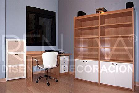 Muebles a medida en Sevilla, Mobiliario a medida, Muebles de madera, librería...