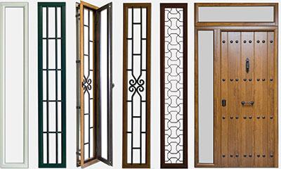 Puertas de entrada acorazadas para exteriores chapa hierro - Puertas de hierro para exterior ...