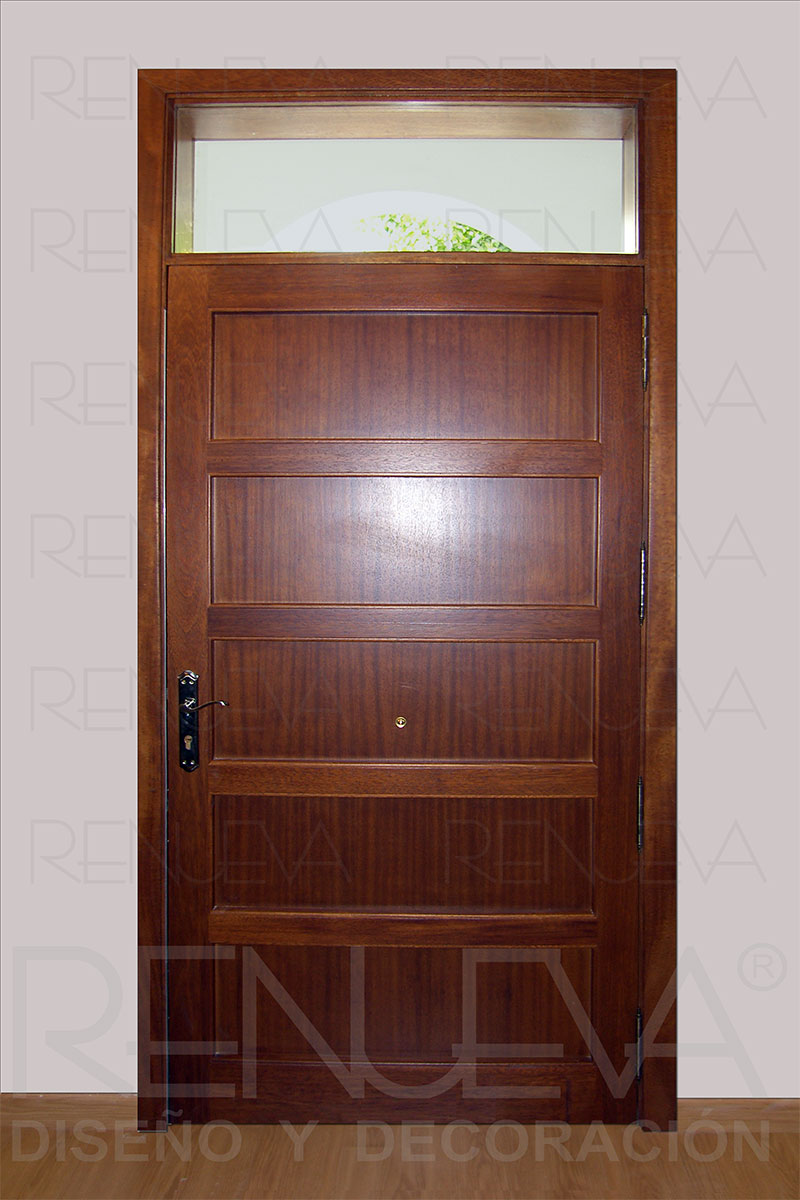 Puertas de entrada r sticas puertas de entrada cl sicas - Puertas de madera clasicas ...