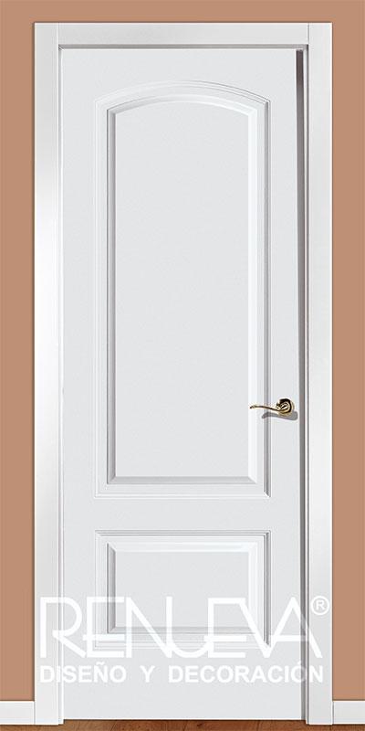 Puerta modelo lr22 lacada en blanco - Casas con puertas blancas ...