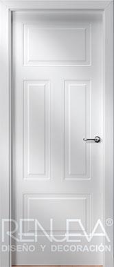 Puertas lacadas cl sicas de dise o puertas lacadas estilo for Estilo clasico contemporaneo