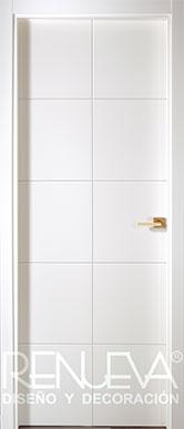 Puertas lacadas en blanco modernas precios puertas - Puertas lisas blancas ...