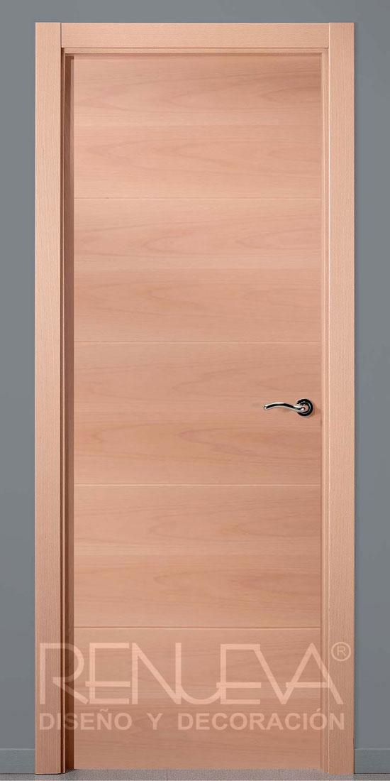 Puerta uniarte modelo vt5 haya vaporizada - Puertas con cristales de colores ...