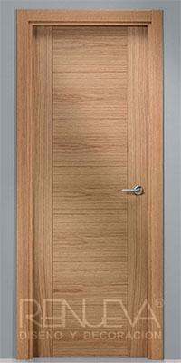 puerta uniarte modelo vp7 roble