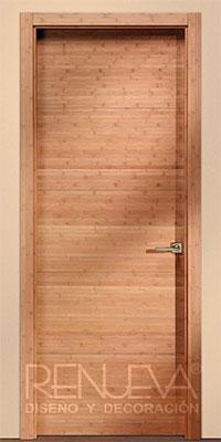 Puerta Uniarte Modelo Vt5 Bamb